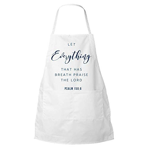 Charlz Gifts Psalms Gift Idea|Psalm 150 Apron|Christian Gift Ideas for Women or Men -