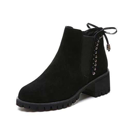 Vintage Dama Al Botines Zapatos Chukka De Con Un Botas Resistente Caminatas Aire Desgaste Invierno Plataforma Para Libre Yan Gamuza qH4wxvq