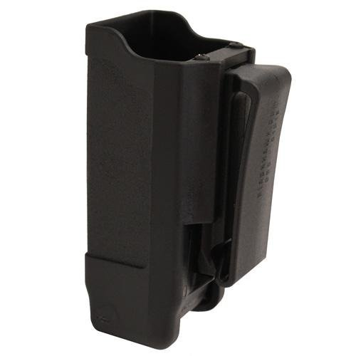 Magazine Case Belt - BLACKHAWK! Double Stack Single Mag Case (Matte Finish for 9mm/.40 cal), Black