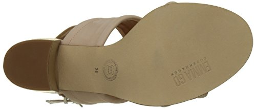Emma Go Women's Amelia Open Toe Sandals, 8 UK Rose (Nubuck Rosita)