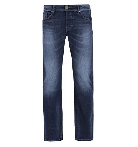 Diesel Men's Jeans Waykee Regular Straight-Leg Cotton Blue 00S11B - 084KW - 01 (W 33 - L 32)