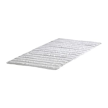 Ikea nattlig Colchón en Color Blanco; Impermeable; (70 x 160 ...