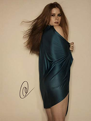 AMY ADAMS AUTOGRAPHED Hand SIGNED 11x14 Photo LOIS LANE ENCHANTED -