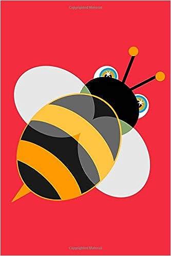 Amazoncom Bee Sketchbook Bee Bordered Sketchbook For Kids Funny