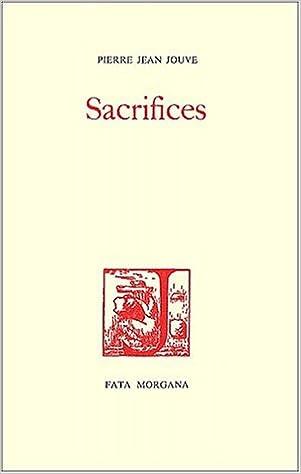 Lire en ligne Sacrifices pdf
