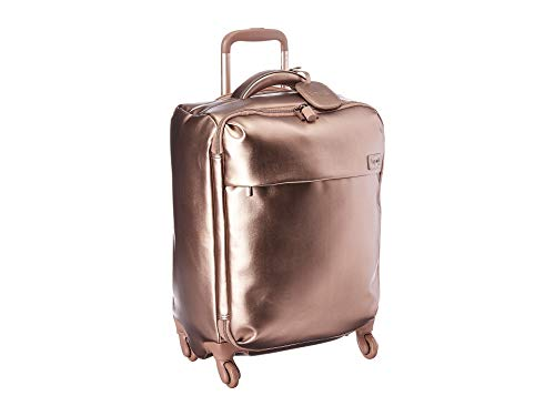 Lipault - Miss Plume Spinner 55/20 Luggage - Carry-On Rolling Bag for Women - Pink - 20 Weekender Rolling