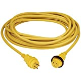 Marinco 30 Amp PowerCord PLUS Cordset w/Power-On LED - Yellow