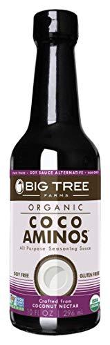 - Big Tree Farms Coco Aminos All Purpose Seasoning Sauce, 10 Ounce