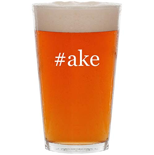 #ake - 16oz Hashtag All Purpose Pint Beer Glass