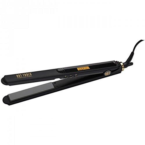Hot Tools Professional Black Gold Digital Long Flat Iron, 1