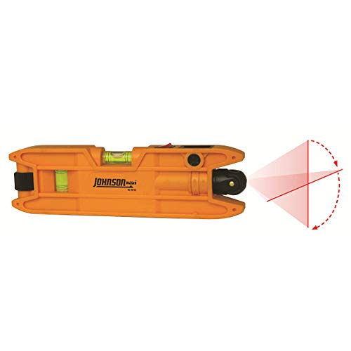 Johnson Level  Tool 40-0915 Torpedo Laser Level,