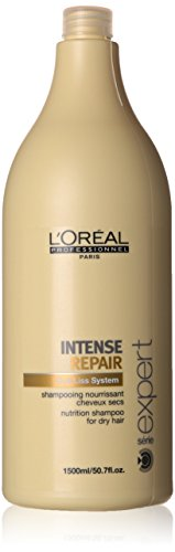L'Oreal Serie Expert Intense Repair Shampoo Unisex, 50.7 Ounce by L'Oreal Paris