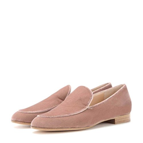 Size Peach Slip US Shoes 12 Casual Loafers Jayjii Suede Nancy Fashion Flats Men On vPFBC