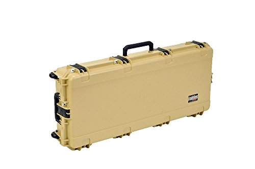 SKB Injection Molded 41-Inch Wide Single Parallel Limb Bow Case (Desert Tan) - Parallel Limb Bow