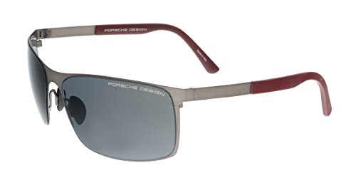 PORSCHE Sunglasses P 8566 Sunglasses A red - Porsche Sunglasses Mens
