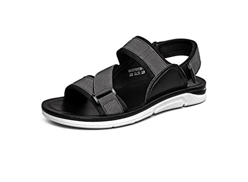 Koyi Summer New Student Outdoor Casual Sports Sandals Beach Shoes Men FishermanShoes for Walking Hiking Grey VOFo6Cf