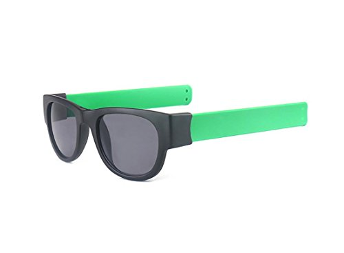 Hero Snapping circle glasses sports wrist glasses polarizing sunglasses (Green color, ()