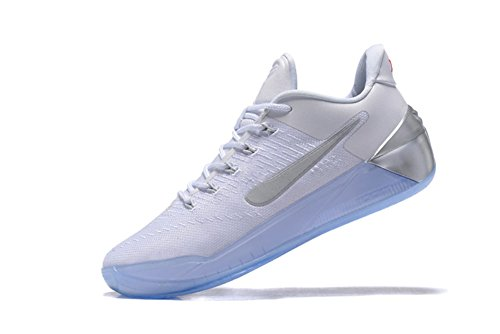 Christmas Present Kobe 12 AD Men's Basketball Shoes White/Silver 40EU