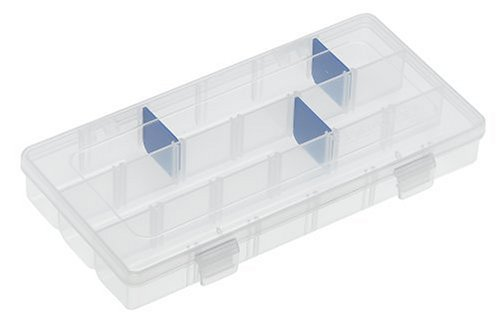 Flambeau Storage Systems - Flambeau 3003 Tuff Tainer See-Through Storage Box, 9.125