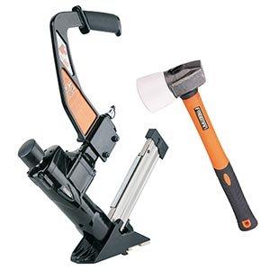 Freeman 3 in1 Flooring Nailer/Stapler With Fiberglass Mallet Includes Case