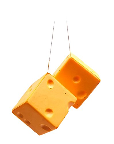 Cheesehead Hanging Dice ()