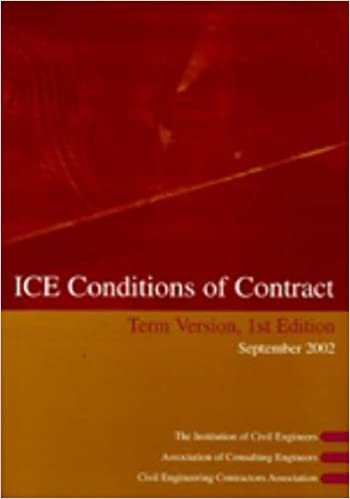 ICE Conditions of Contract