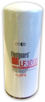 UPC 758149759456, Fleetguard LF3000, Diesel Oil / Lube Filter, Spin-on, for Cummins Engines