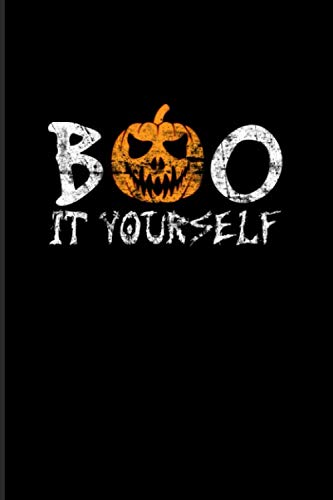 Diy Monster Costume Ideas (Boo It Yourself: Creepy Boo 2020 Planner   Weekly & Monthly Pocket Calendar   6x9 Softcover Organizer   For Do It Yourself & Wordplay Fan)