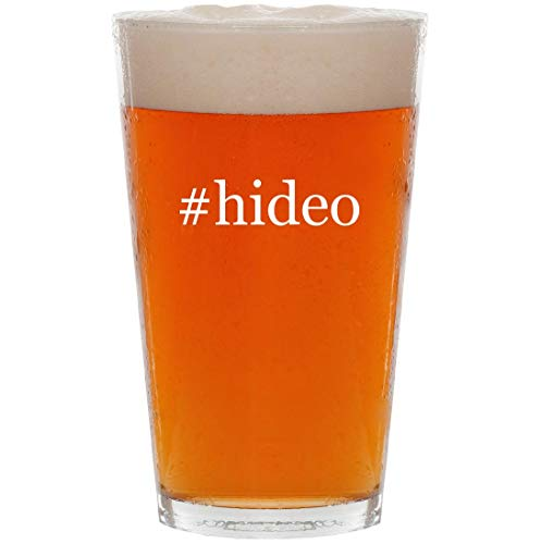 Price comparison product image #hideo - 16oz Hashtag Pint Beer Glass