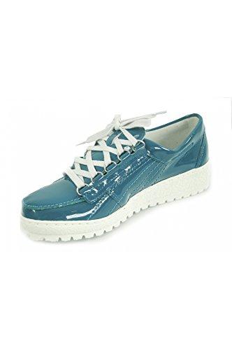 Cordones Charol Zapatos Para Mujer De Petróleo Mephisto Lady1179 IqFRxwtw