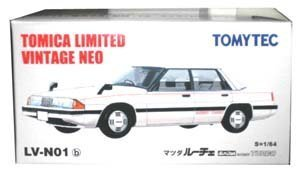 Tomica Limited Vintage Limited Vintage NEO lv-n01b Mazda Luce (ホワイト) B01E8XHATI