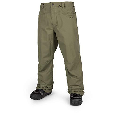 (Volcom Men's Carbon Ergo Fit Snow Pant, Military Extra Large)