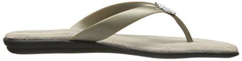 Aerosol A2 Donna Troppo Chlose Flip Flop Argento / Metallizzato