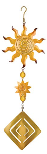 Regal Art And Gift Sun Twirly Garden Hanging Ornament Home