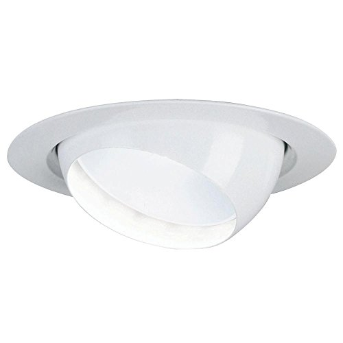 Lithonia Lighting LK7E1MW BR30 LED M6 6-Inch Recessed Down Lighting, Matte White (Lithonia Recessed Lighting)