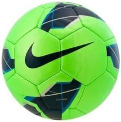 Nike Luma - Balón de fútbol, Talla 5, Color Verde/Azul: Amazon.es ...