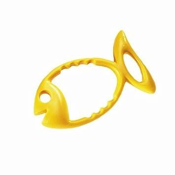 Fashy Tauchring Fisch, 9 x 17 cm gelb 4203