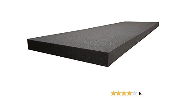 "2/""X 16/""X 16/"" Upholstery Foam Cushion Replacement Medium Density Foam Sheet"