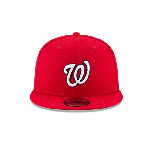 (New Era 950 MLB Basic Team Color Washington Nationals Snapback Cap)