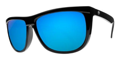 ELECTRIC TONETTE SUNGLASSES Gloss Black Fame | Grey Blue Chrome Lens ES06501662