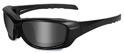 Harley-Davidson Gravity Grey Lens w/ Matte Black Frame Sunglasses HDGRA01 ()