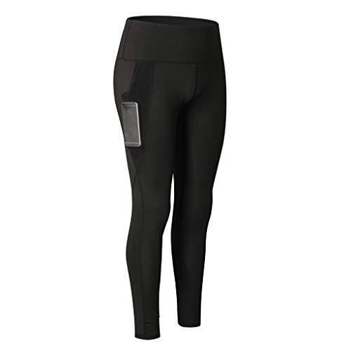 POQOQ Pants Women's Fashion Workout Leggings Fitness Sports Running