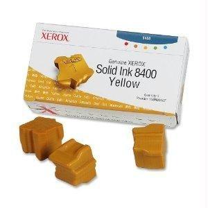Xerox Genuine Xerox Solid Ink 8400 Yellow (three Sticks), 108r00607