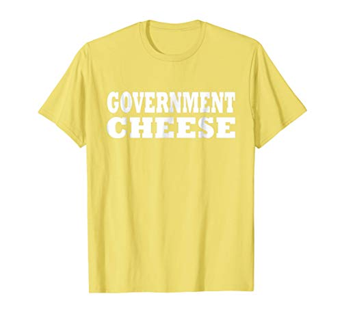 Government Cheese Halloween Easy Costume Cute Party T Shirt ()