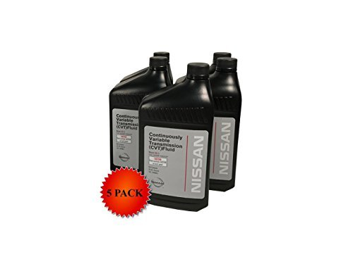 (Genuine Nissan OEM CVT-3 Transmission Fluid 999MP-NS300P (5 Quarts))