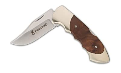 Browning Clip Point Knife, Walnut