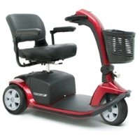 Pride Mobility Victory 10 3-Wheel Scooter - Blue