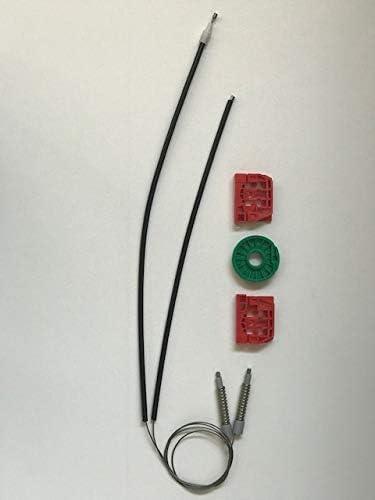 VITKT Kit de reparaci/ón del regulador del regulador de la ventana el/éctrica delantero Ajuste de la puerta derecha para Nissan Terrano MK2 FIT FOR FORD MAVERICK W638