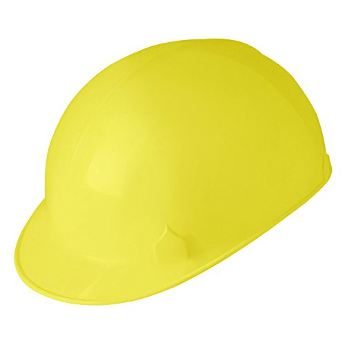 Jackson Safety C10 Bump Cap (14809), Safety Hard Hat for Minor Bumps, Absorbent Brow Pad, 4-Pt. Suspension, Yellow, 12 / Case