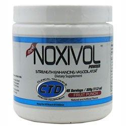 CTD Спорт Noxivol выносливость и силу Повышение сосудорасширяющих, фруктовый пунш, 320 грамм